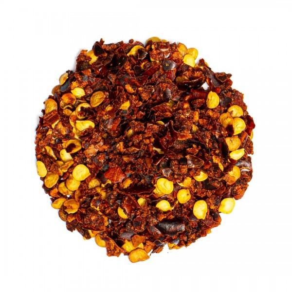 Piri-Piri, geschrotete Peperoni, mit Kernen