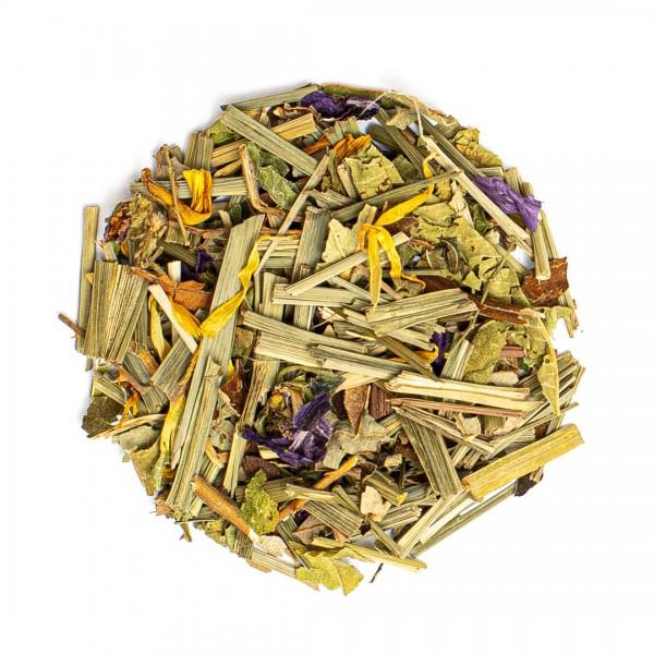 Lemon-Erfrischungskräuter-Tee
